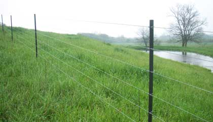 Electric Fence Line Posts Pasturepro Fence